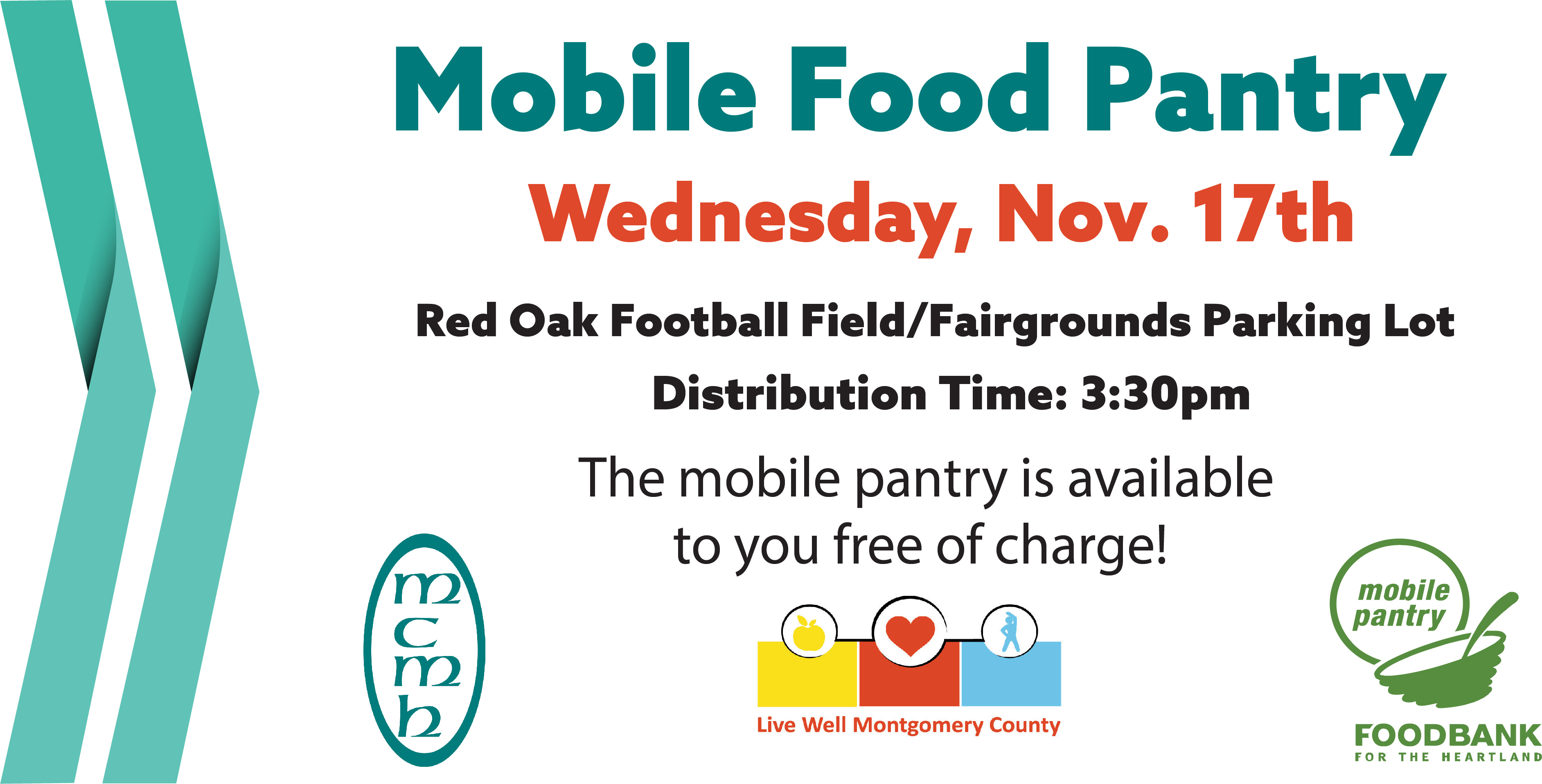 Mobile Food Pantry - September 29th.